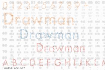 Drawman Font