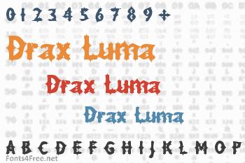 Drax Luma Font