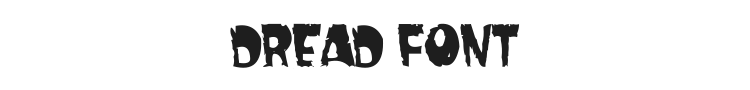 Dread Font Preview