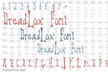 DreadLox Font