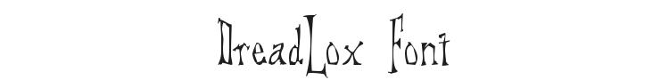 DreadLox Font Preview