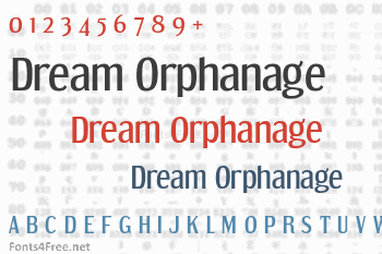 Dream Orphanage Font
