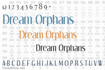 Dream Orphans Font