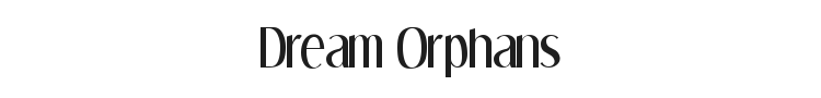 Dream Orphans Font Preview