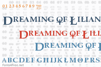 Dreaming of Lilian Font