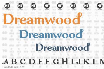 Dreamwood Font