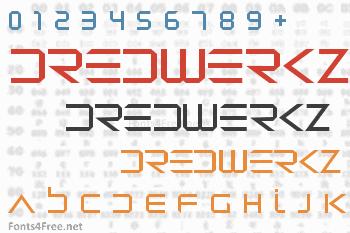 Dredwerkz Font