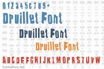 Druillet Font