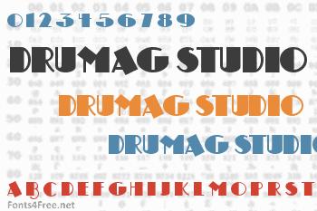 Drumag Studio Font