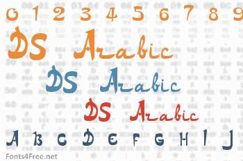 DS Arabic Font