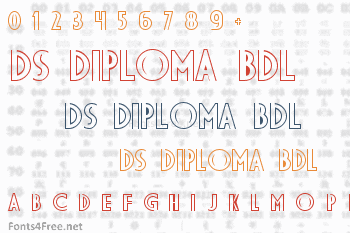 DS Diploma BDL Font