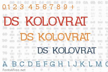 DS Kolovrat Font