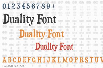 Duality Font