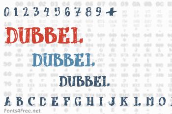 dUBBEL Font