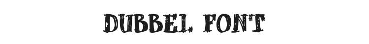 dUBBEL Font Preview