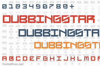 DubbingStar Font