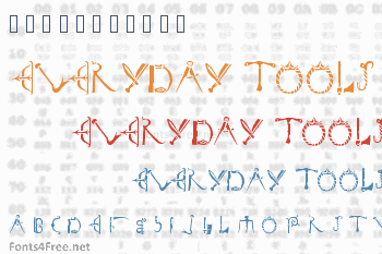 Duerer Everyday Tools Font