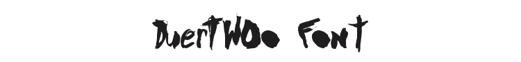 DuerTWOo Font Preview