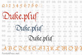 Duke.plus Font