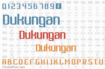 Dukungan Font
