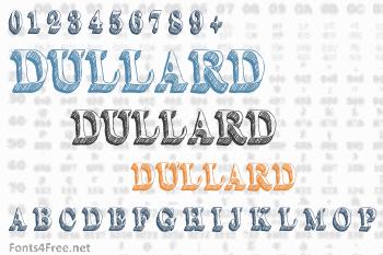 Dullard Font