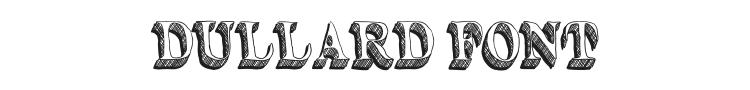Dullard Font Preview