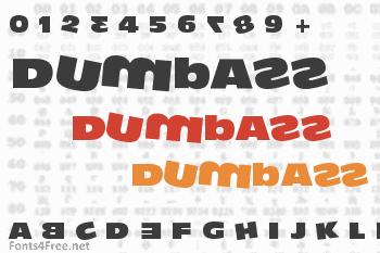 DumbAss Font