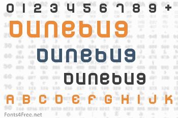 Dunebug Font