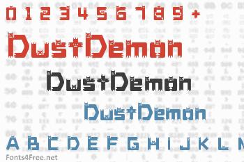 DustDemon Font
