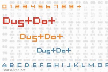 DustDot Font