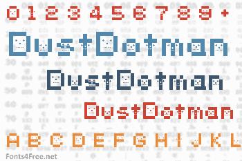 DustDotman Font