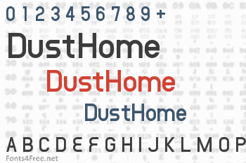 DustHome Font