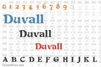 Duvall Font