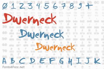 Dwerneck Font