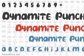 Dynamite Punch Font