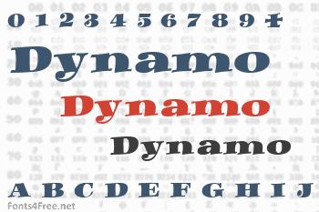 Dynamo Font