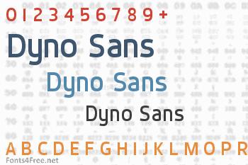 Dyno Sans Font