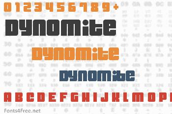 Dynomite Font