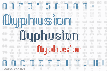 Dyphusion Font