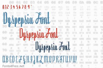 Dyspepsia Font