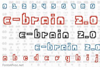 E-Brain 2.0 Font