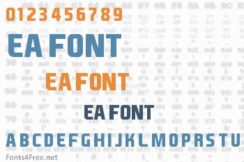 EA Font
