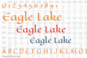 Eagle Lake Font