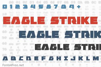 Eagle Strike Font