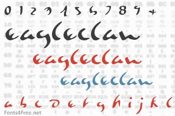 Eagleclaw Font