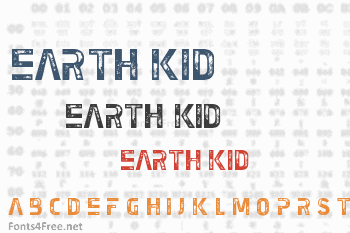 Earth Kid Font