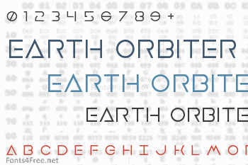 Earth Orbiter Font