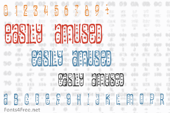 Easily Amused Font