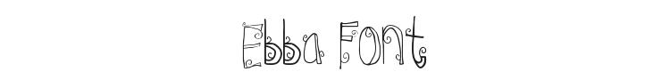 Ebba Font