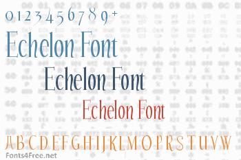 Echelon Font